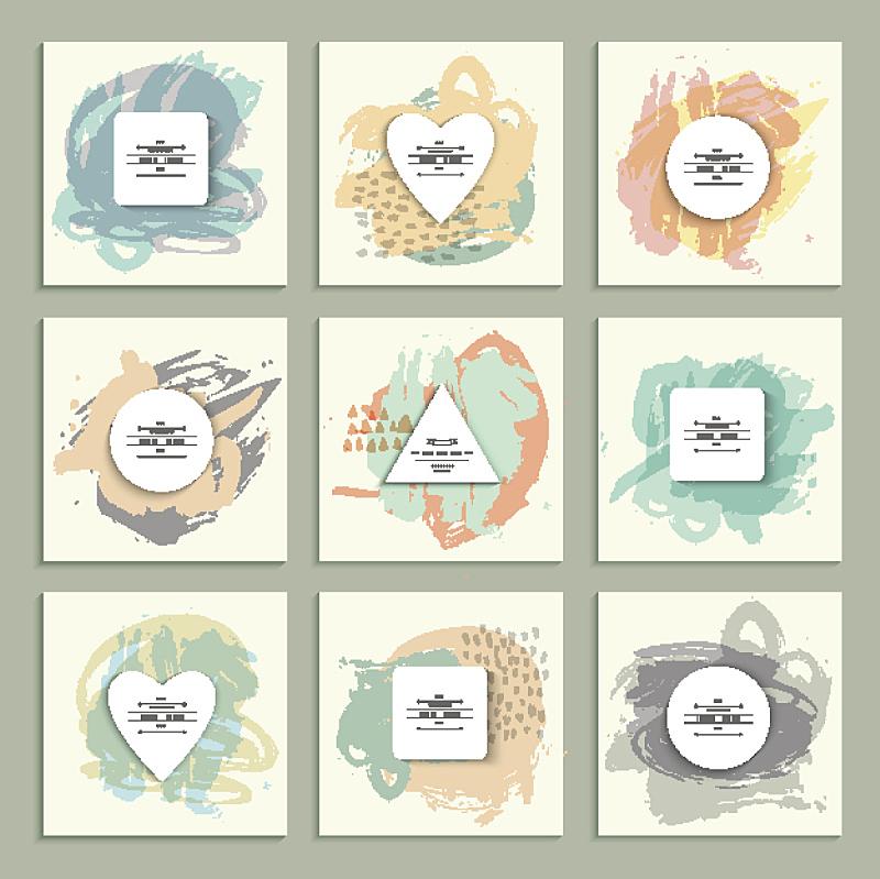 横截面,形状,背景,纸,创造力,奇异的,毡尖笔,水彩画颜料,背景分离,模板