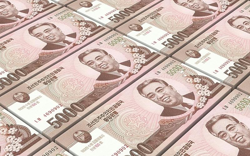 朝鲜,帐单,背景,水平画幅,形状,无人,绘画插图,金融,银行业,金融和经济