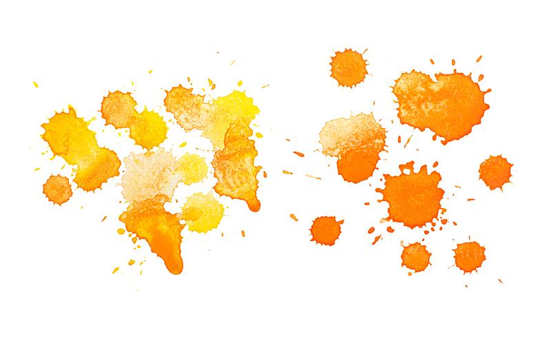 水滴,多色的,抽象,玷污的,水彩画,水粉画,水平画幅,努力,墨水