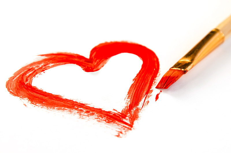 涂料,动物心脏,式样,水平画幅,形状,无人,绘画插图,符号,抽象,墨水