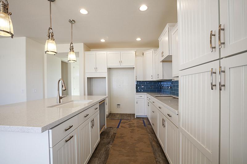 新的,厨房,大特写,建筑工地,门口,水平画幅,墙,无人,天花板,居住区