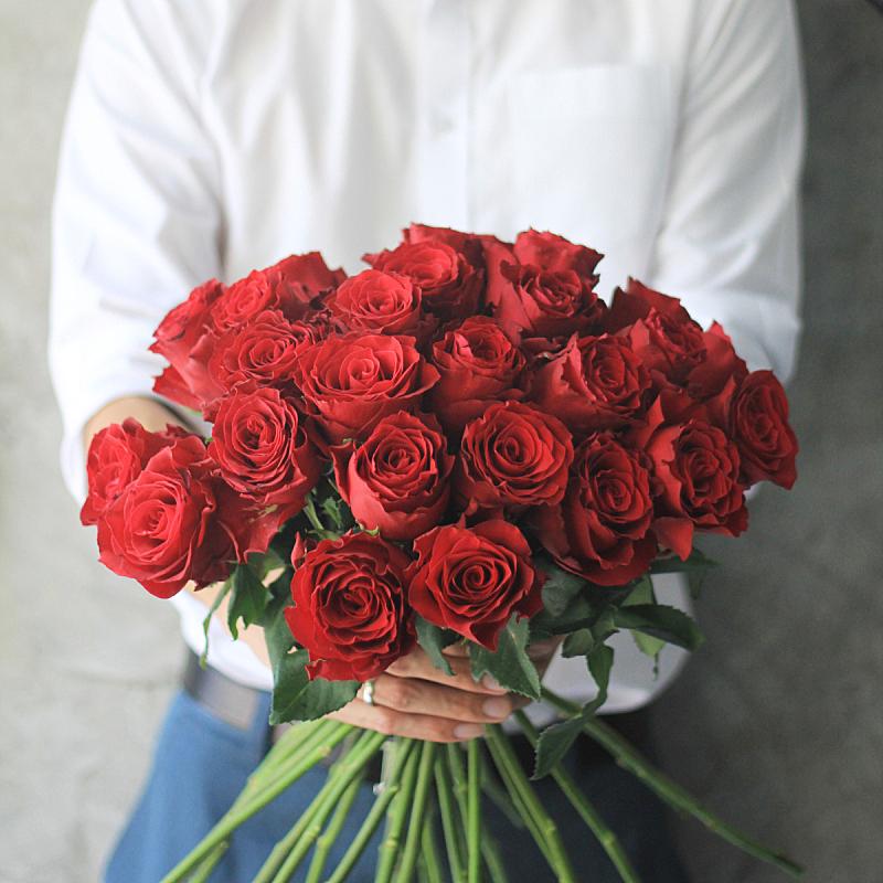 玫瑰,红色,拿着,男人,花束,情人节,美,蝴蝶结,美人,生日