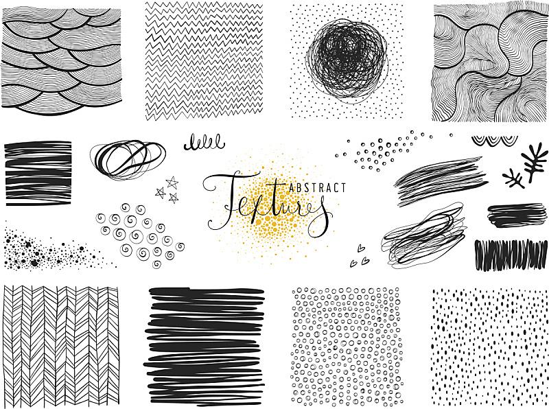 抽象,化学元素周期表,铅笔画,儿童画,潦草,乱画,人字花纹,车背,线条,条纹