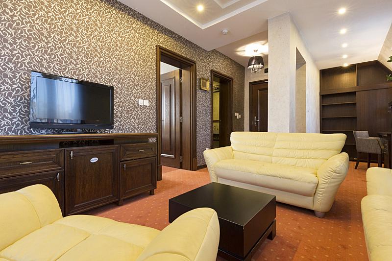 公寓,室内,酒店,宾馆客房,宾馆套房,羽绒被,度假胜地,水平画幅,无人,椅子