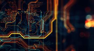 网络服务器,电路板,数据,水平画幅,科学,计算机软件,中央处理器,明亮,计算机语言,电子元件