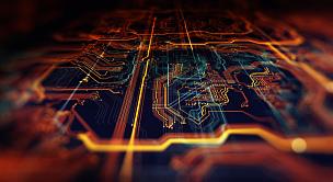 网络服务器,电路板,未来,母板,计算机语言,电脑芯片,中央处理器,水平画幅,科学,计算机软件