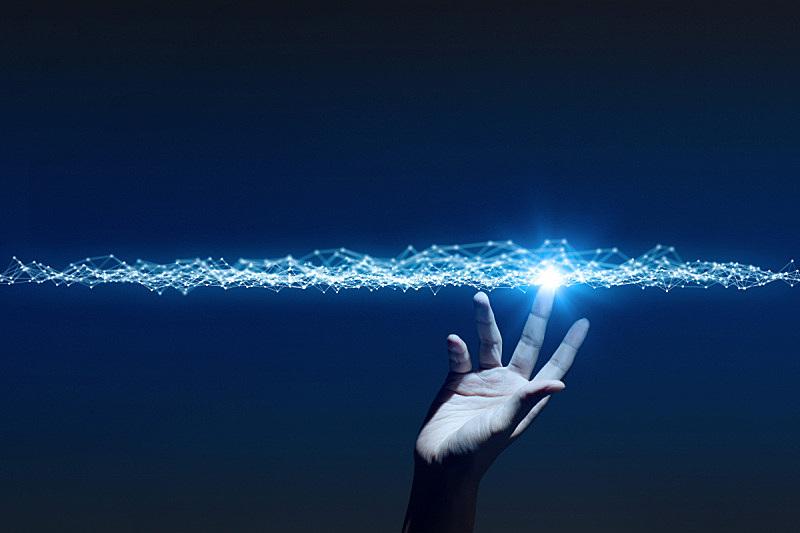 铁丝网,计算机网络,手,抽象,三维图形,复合媒材,地平线,网,增强现实,创世纪