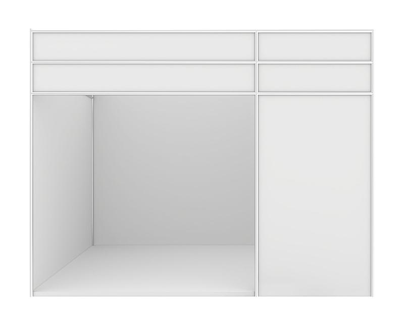 空白的,三维图形,分离着色,白色背景,闪亮的,空的,灰色,图像,无人,货亭