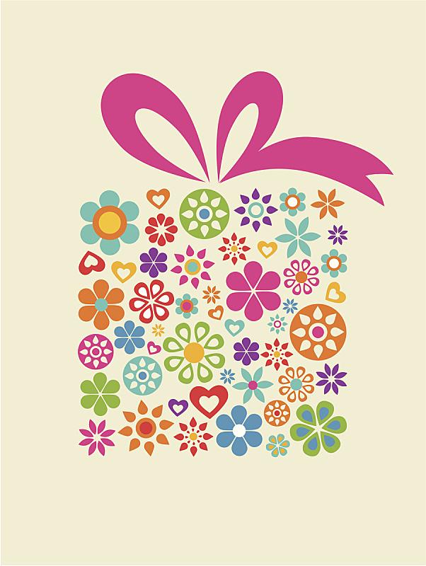 礼物,盒子,生日卡,母亲节,蝴蝶结,周年纪念卡,缎带,礼物标签,贺卡,圣诞卡