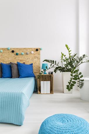 新的,卧室,简单,垂直画幅,家庭生活,家具,现代,想法,白色,光