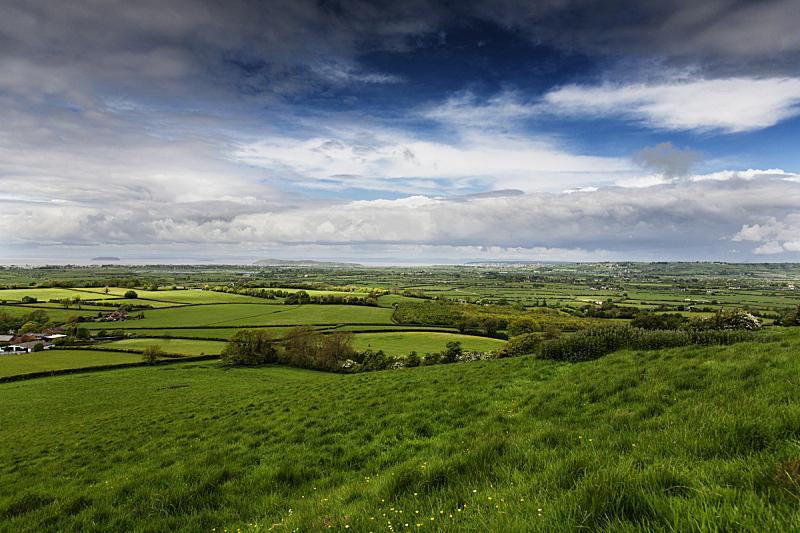 地形,萨默塞特,自然,天空,宁静,水平画幅,绿色,山,无人,蓝色