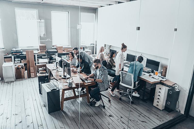 专心,设计室,新创企业,创作行业,商务休闲,公司企业,休闲装,计算机,办公室,工作
