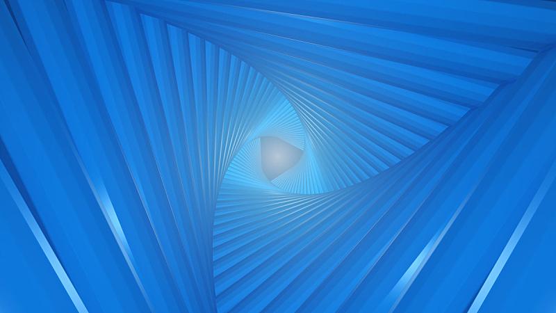 未来,三角形,隧道,闪光灯照明,水平画幅,绘画插图,格子,科学,天花板,几何形状