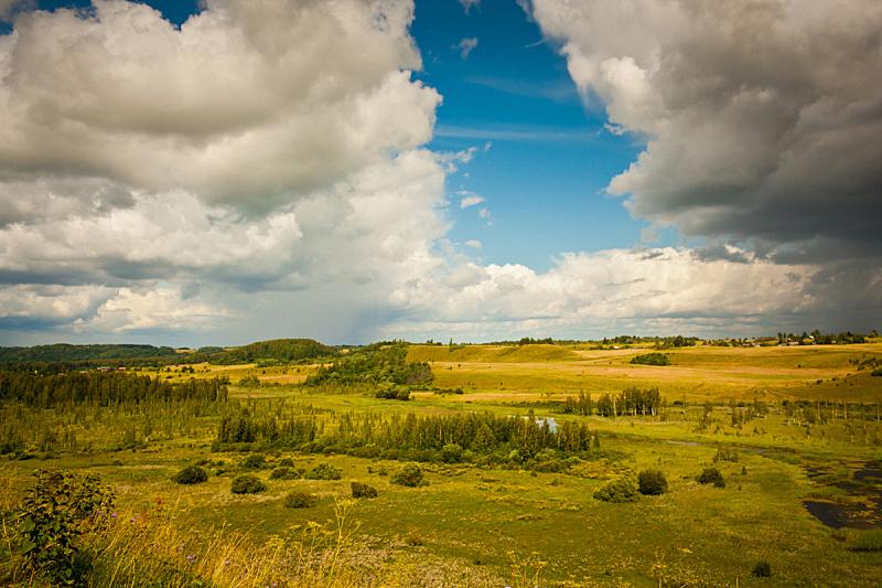 自然美,山谷,水,天空,美,水平画幅,山,无人,夏天,户外