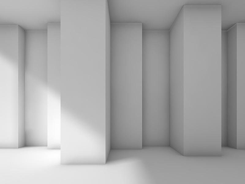 现代,角落,三维图形,抽象,室内设计师,留白,未来,灵感,水平画幅,形状