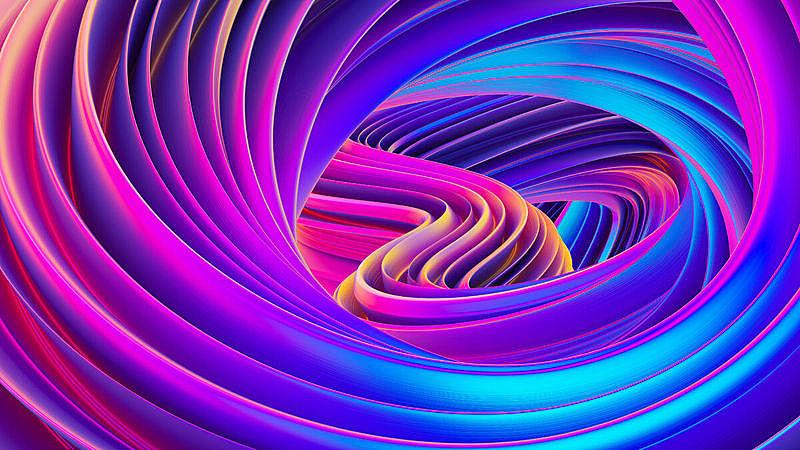 背景,壁纸,形状,三维图形,全息图,式样,抽象,荧光色,液体,缠绕