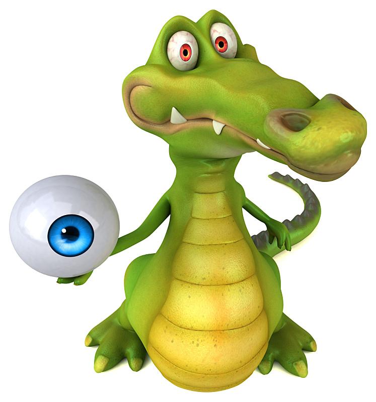 鳄鱼,短吻鳄属,垂直画幅,野生动物,可爱的,绘画插图,健康保健,图像,爬行纲,动物