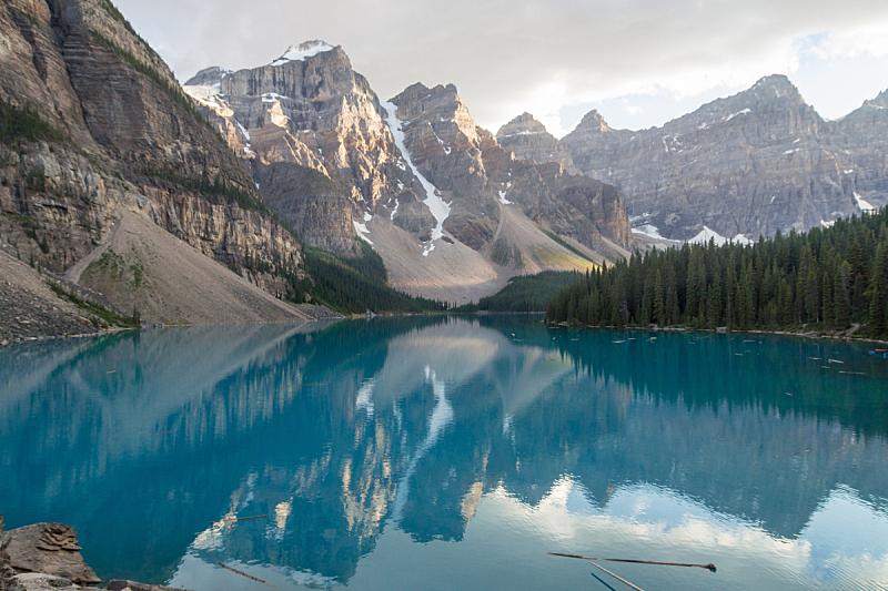 露易斯湖,班夫,卡尔加里,环境,云,雪,加拿大,湖,绿松石色,岩石