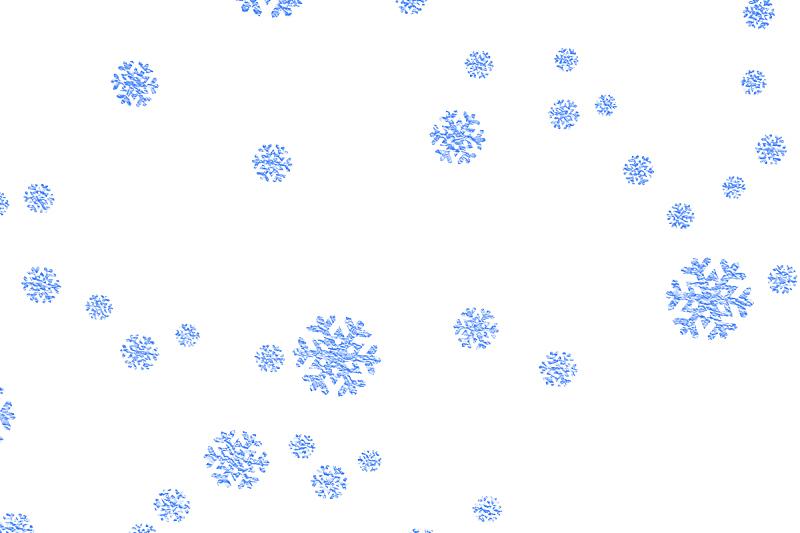 背景,天空,纸,季节,冬天,雪花,里面,分离着色,落下