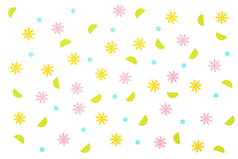 白色背景,五彩纸屑,春天,纸,水,艺术,水平画幅,无人,夏天,泰国