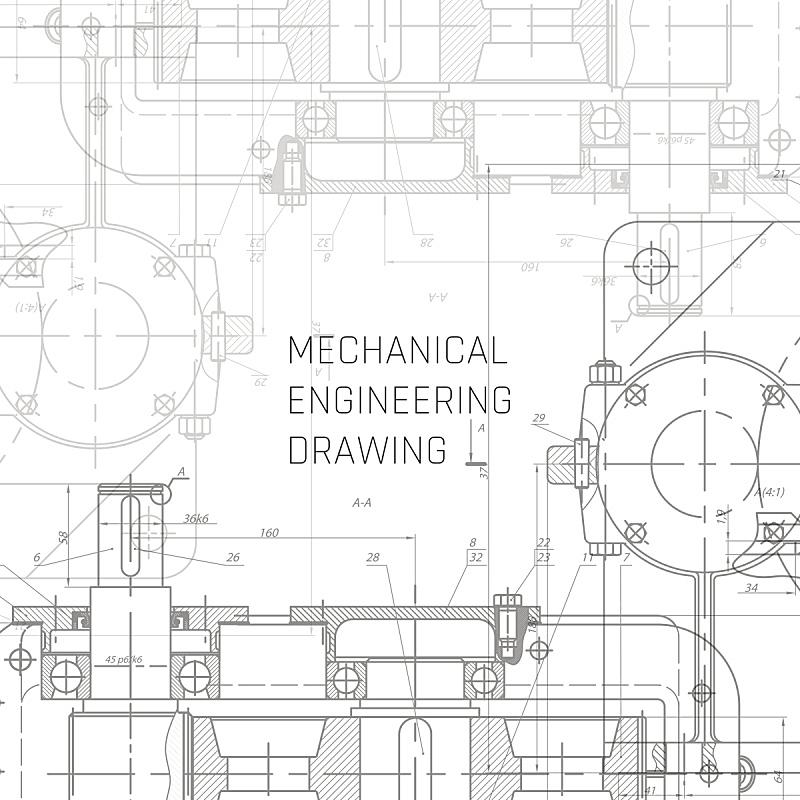 蓝图,绘画插图,工程师,矢量,背景,机械工程,机件,工程,计划书,建筑业