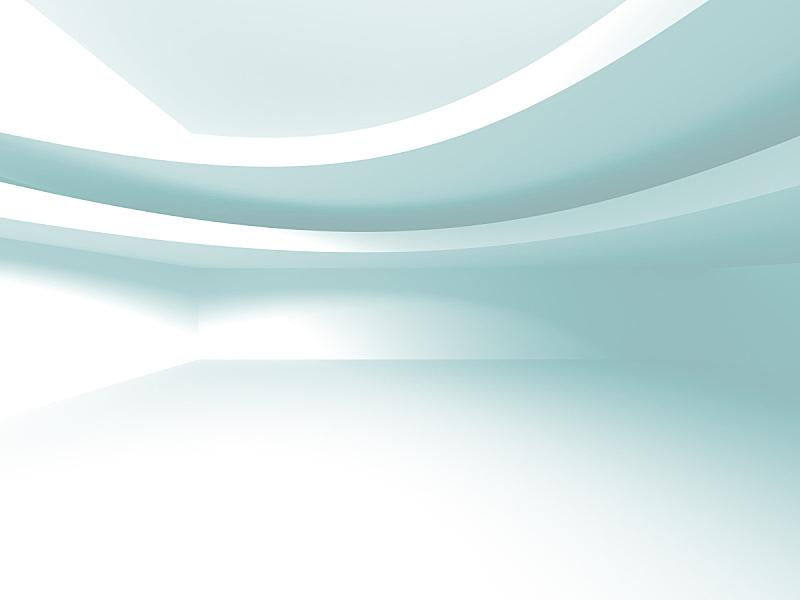 白色,建筑,背景,未来,新的,水平画幅,无人,绘画插图,透视图,走廊