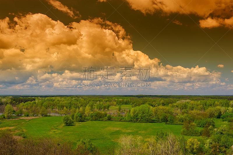 地形,风景,水平画幅,无人,巨大的,夏天,户外,草,枝,清新