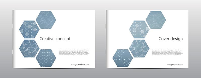 六边形,小册子,分子,计划书,抽象,绘画插图,矢量,背景,几何形状