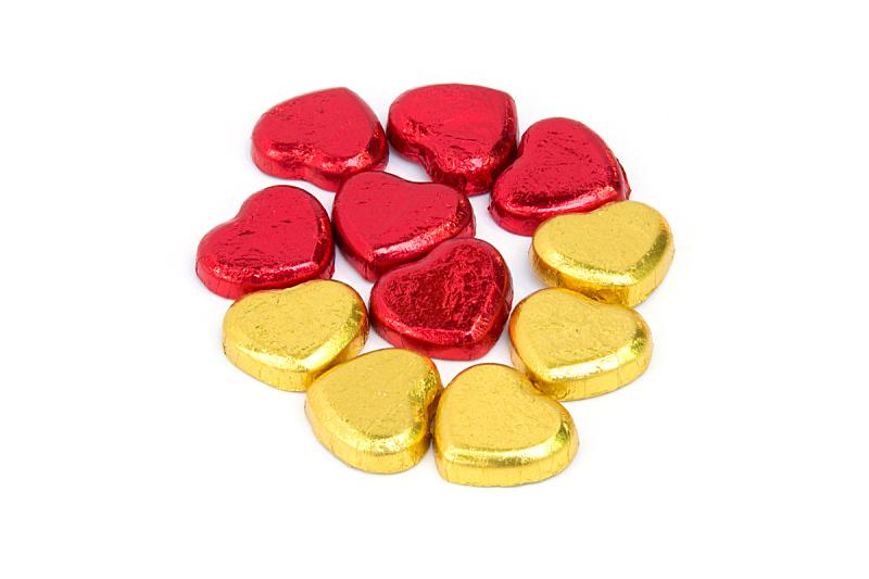 糖果,巧克力,动物心脏,褐色,水平画幅,形状,符号,金属,甜点心,糖