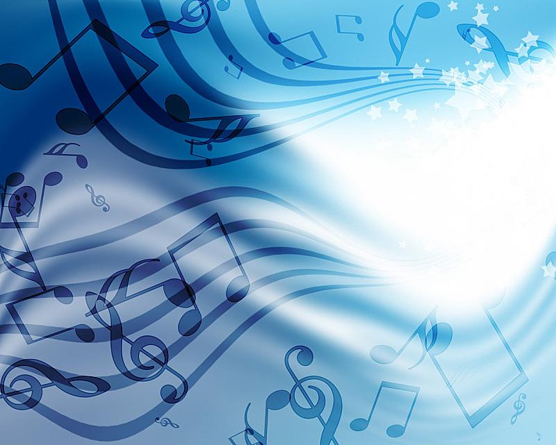 音乐,背景,火焰图案,水平画幅,蓝色,绘画插图,阶调图片,红色,热,漩涡形