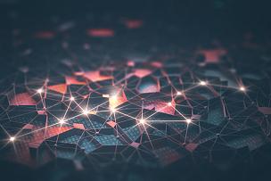 电脑芯片,电子人,密码,计算机网络,神经系统,编码,二进制码,有线的,电路板,抽象背景