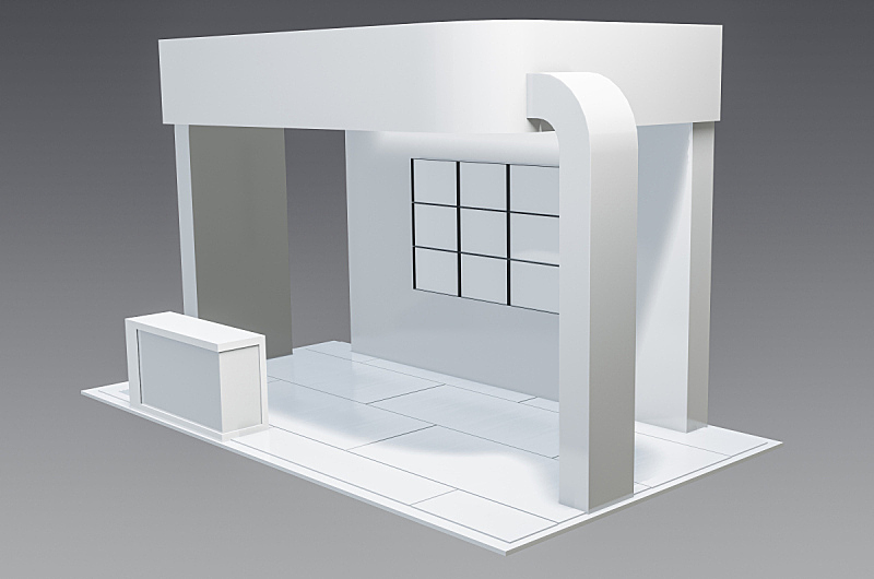 简单,空白的,图像,桌位,模板,南非,无人,计算机制图,货亭,水平画幅