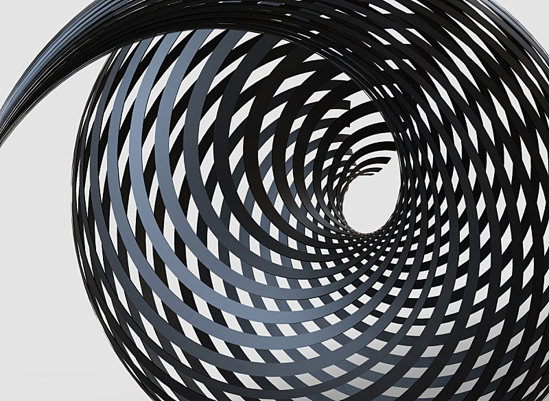 三维图形,花体,抽象,线条,平视角,科技,暗色,几何形状,简单,现代