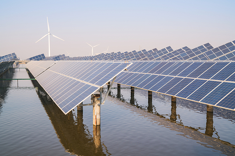 风力,能源,中国,太阳能发电站,输电塔,电源,可持续资源,替代能源,太阳能,太阳能电池板
