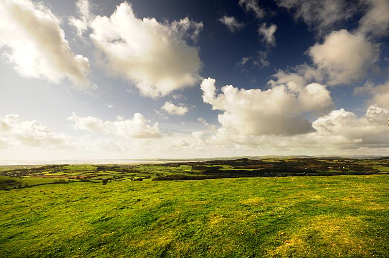 坎布里亚,天空,水平画幅,山,无人,2015年,英国,户外,英格兰湖区,落下