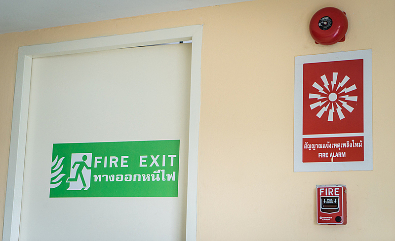 Fire Emergency System in Thai Language