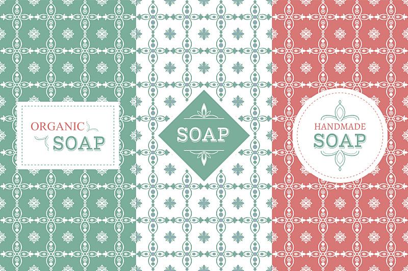 肥皂,矢量,盒子,式样,香水柜台,香水,香波,发型屋,绘画插图,标签