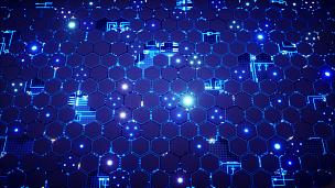 六边形,电路板,平视角,正面视角,未来,计算机制图,计算机图形学,完美,图形界面,复杂性