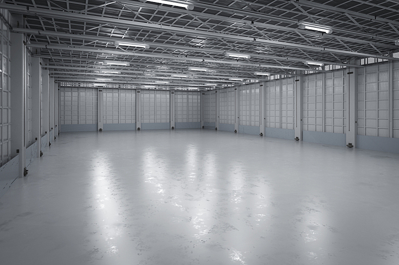 工厂,空的,室内,仓库,水平画幅,工作场所,无人,巨大的,天花板,百叶窗