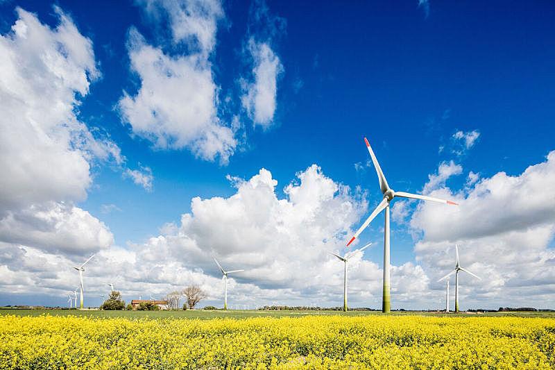 芸苔,涡轮,石勒苏益格-荷尔斯泰因,风力,美国式的风车,替代能源,风轮机,风车,说唱音乐,天空