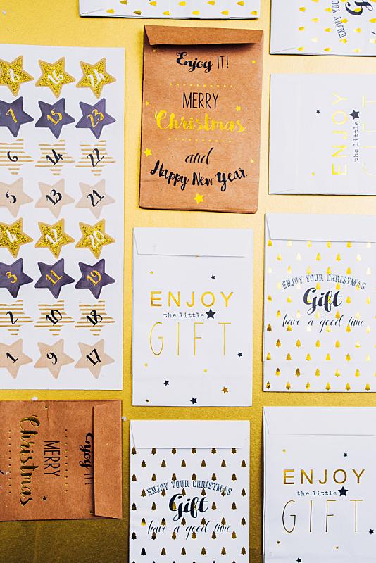 圣诞日历,垂直画幅,留白,传统,日历,标签,乡村风格,惊奇,特写