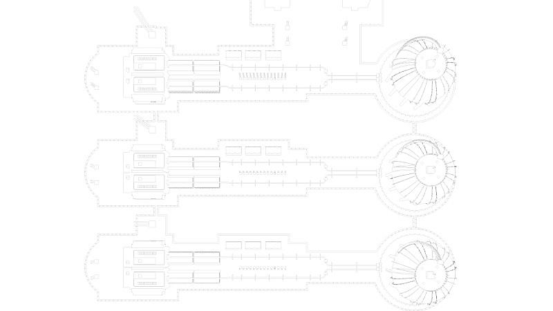 工业,蓝图,城市,组物体,三维图形,复杂,办公室,天空,新的,水平画幅