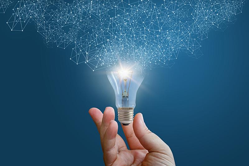灵感,男商人,手,能源,商务策略,智慧,电灯泡,活力,电,创造力