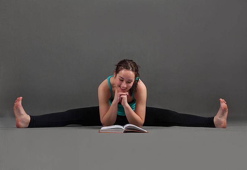 瑜伽,健康,仅成年人,知识,运动,彩色图片,书,身体护理和美容
