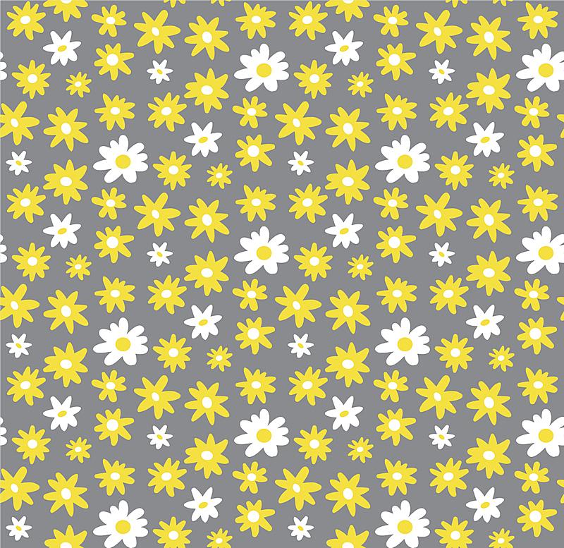 春天,可爱的,涂料,背景,夏天,极简构图,雏菊,矢量,花纹,动物手