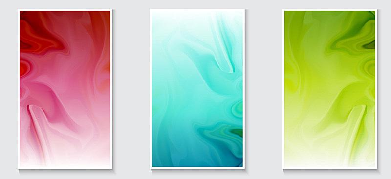background fluid waves for design of flyer, poster, banner, cover