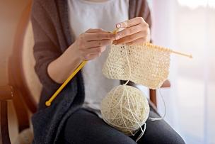 女人,特写,手,羊毛帽,青少年,钩针编织品,休闲活动,纺织品,古典式,青年人
