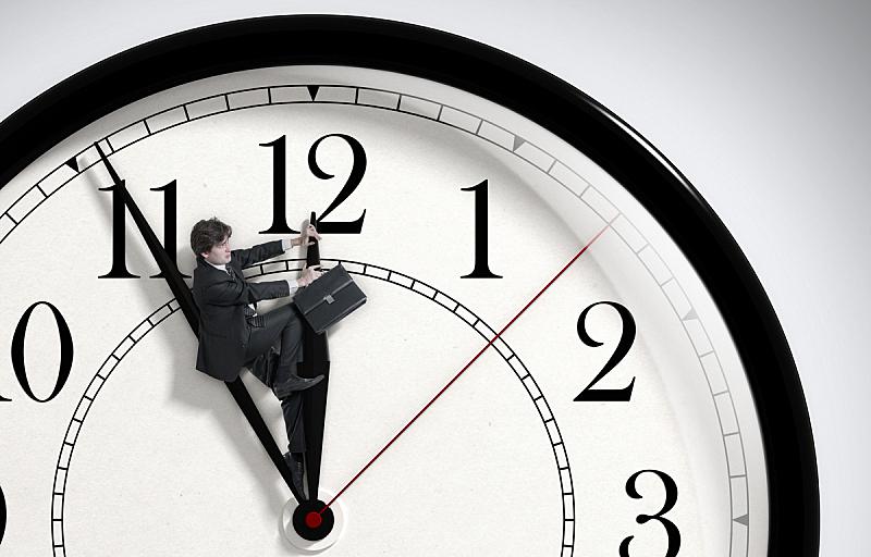 时间,男商人,最终期限,努力,荒废的时光,核对时间,不诚实,粗心的,停止,奋斗