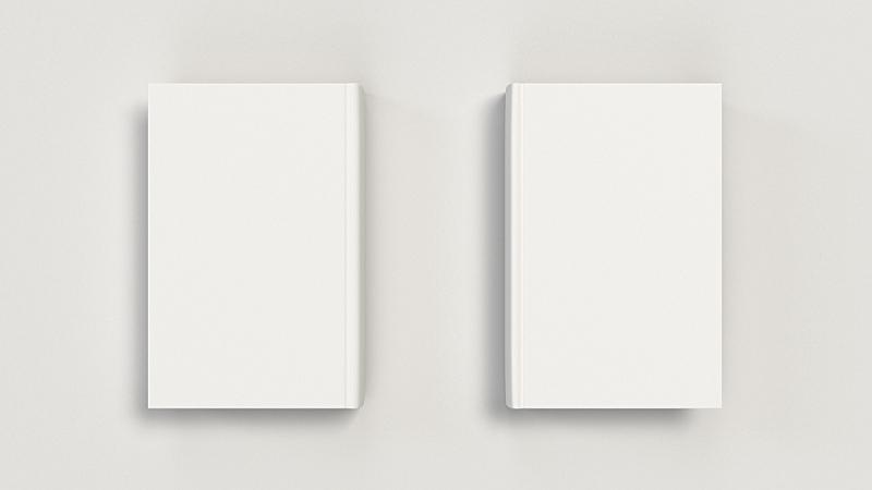书,空白的,垂直画幅,白色,精装书,商务,空的,图书馆,图像,模板