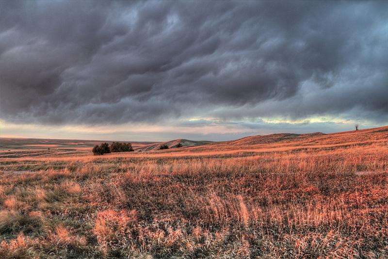 南达科他州,天空,美,水平画幅,云,无人,岩层,夏天,户外,云景